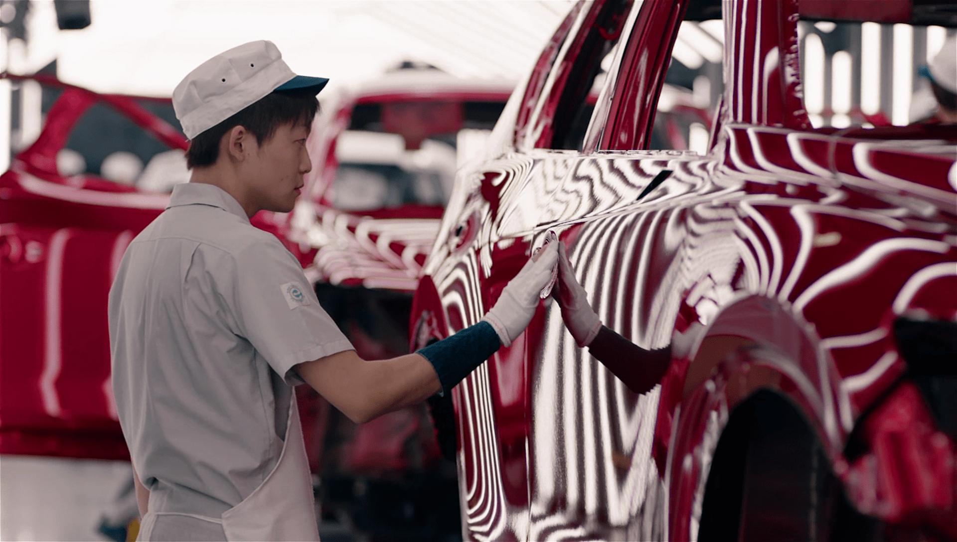 Mazda Ecuador - Soul Red Crystal pintura