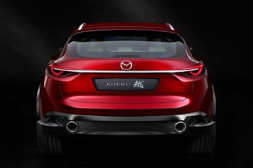 Mazda Ecuador - Concept car Koeru-1