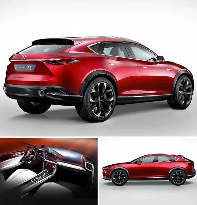 Mazda Ecuador - Concept car Koeru