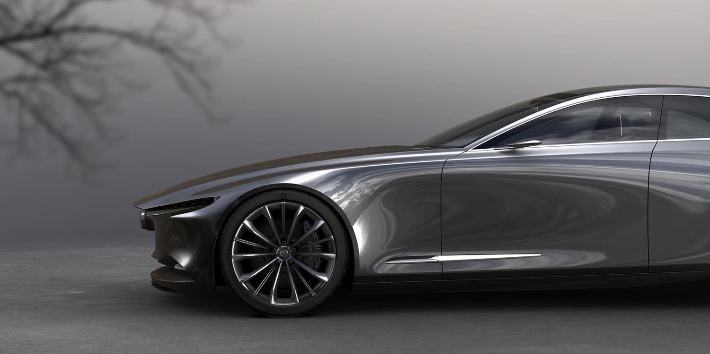 La silueta más perfecta: Mazda Vision Coupe