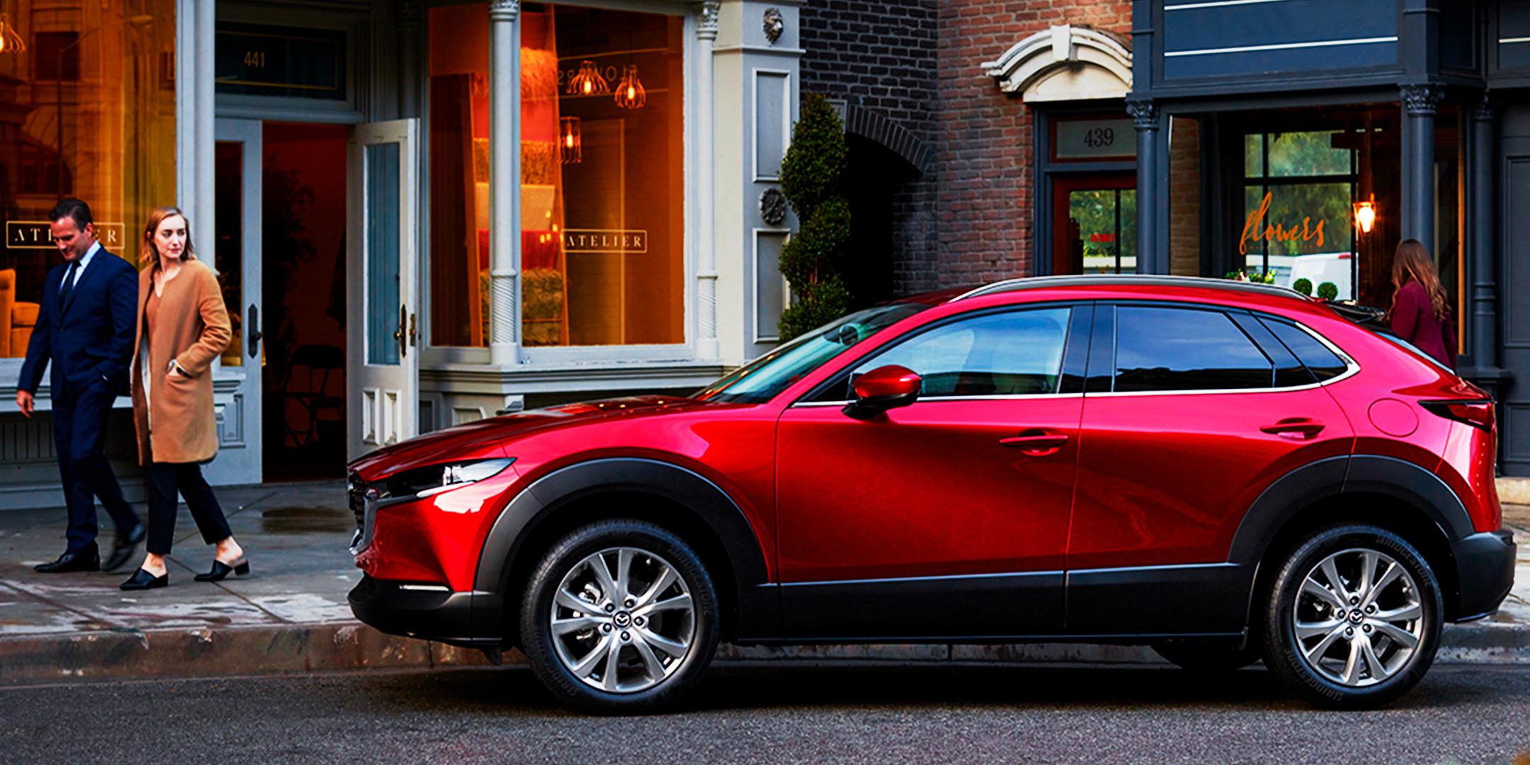 Mazda presentó el primer SUV de su séptima generación